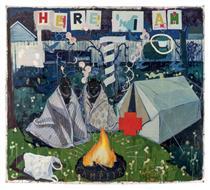 Campfire Girls - Kerry James Marshall