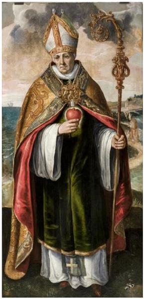 St Augustine, c.1570 - Maarten de Vos