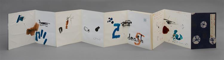 Five Senses for One Death, 1969 - Etel Adnan