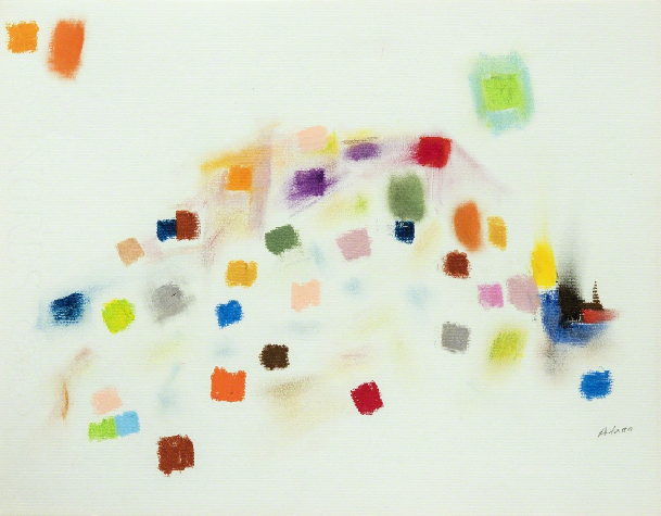 Untitled, c.1970 - Etel Adnan