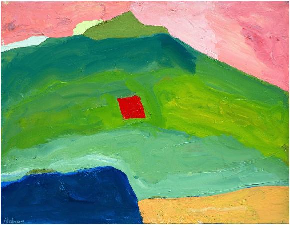 Untitled #17, c.1980 - Etel Adnan