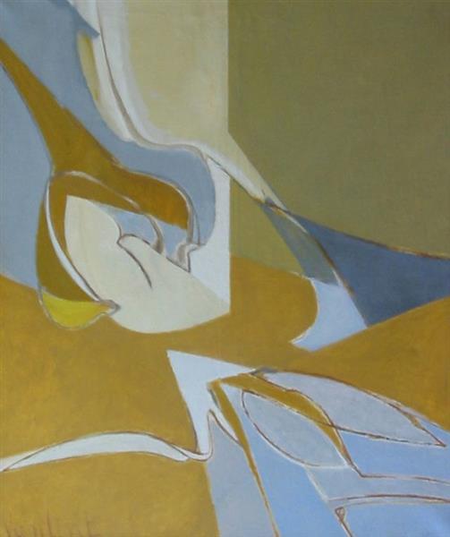 Composition Germinatrice, 1979 - Louis Van Lint