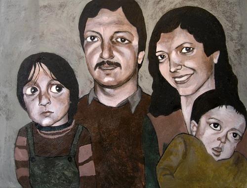 "From ""Family Photos"", 2005 - Samira Eskandarfar"