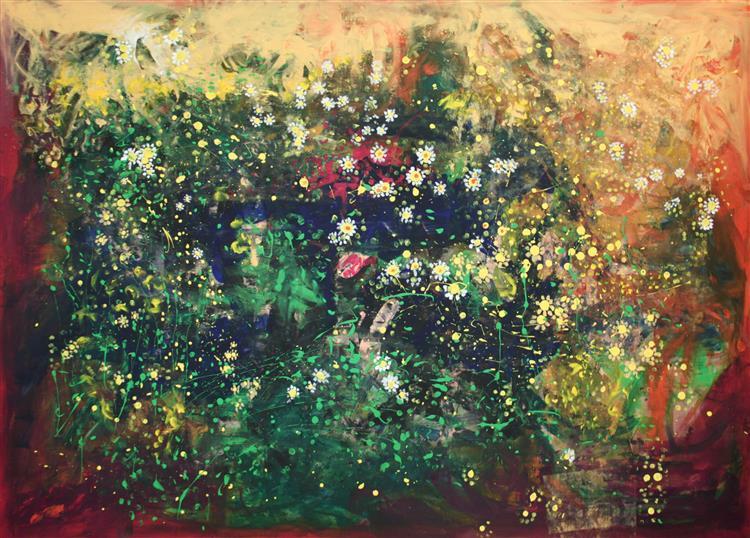Earth with Blossoms, 2014 - Artin Demirci