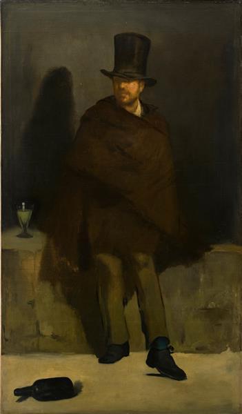 The absinthe drinker, 1859 - Edouard Manet