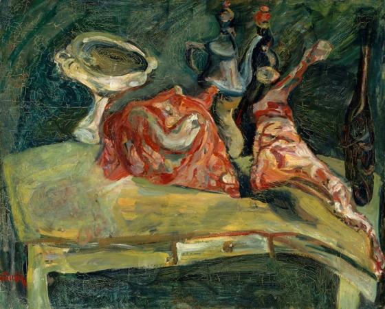 The Table, c.1919 - Chaim Soutine