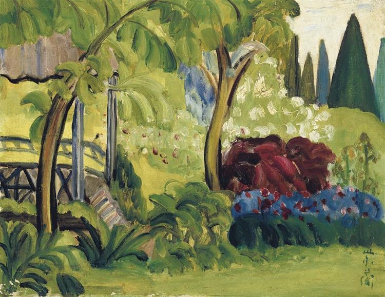 Spring, 1930 - Guan Zilan