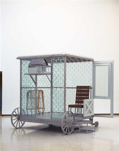 Glass Room, 2000 - Siah Armajani