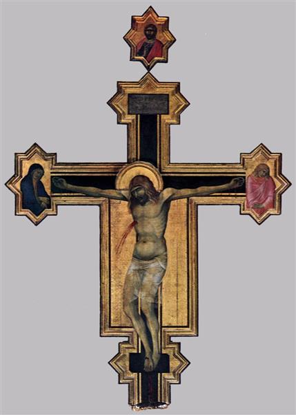 Crucifix, c.1320 - Pietro Lorenzetti