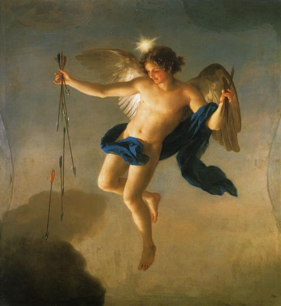 Hesperus as Personification of the Evening, 1765 - Anton Raphael Mengs