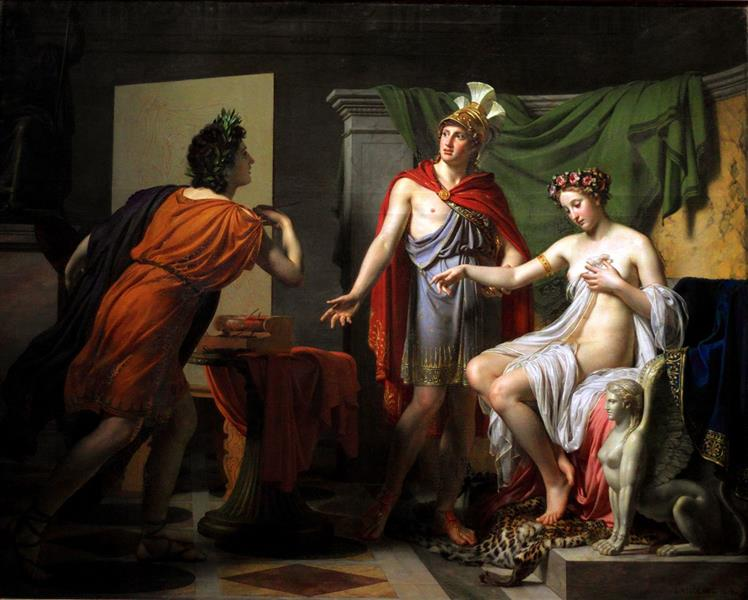 Générosité D'Alexandre, 1819 - Jérôme-Martin Langlois