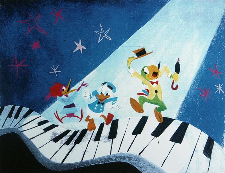 Image result for mary blair three caballeros