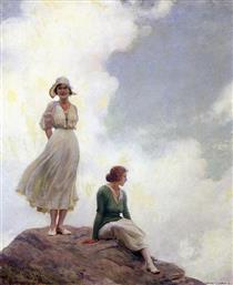 The Boulder - Charles Courtney Curran