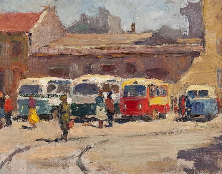 City Sketch - Leonid Muchnyk
