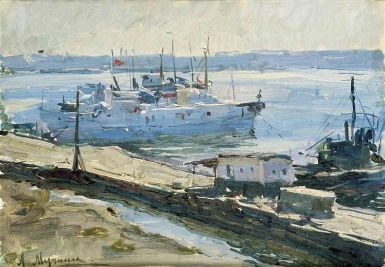 Fishing Harbor of Illichivsk - Leonid Muchnyk
