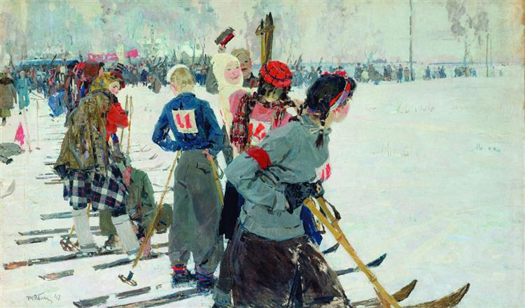 Before the Start, 1947 - Tetyana Yablonska