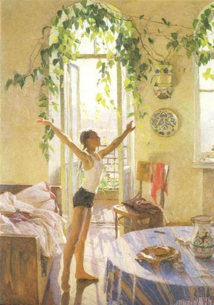 Morning, 1954 - Tetyana Yablonska