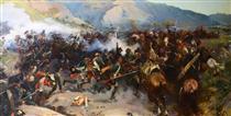 The Battle of the Sea 7 November 1800 - Mykola Samokysh