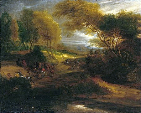 Cavalry Engagement in a Gorge, 1670 - Adam van der Meulen