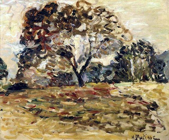 Landscape of Corsica, 1898 - Henri Matisse