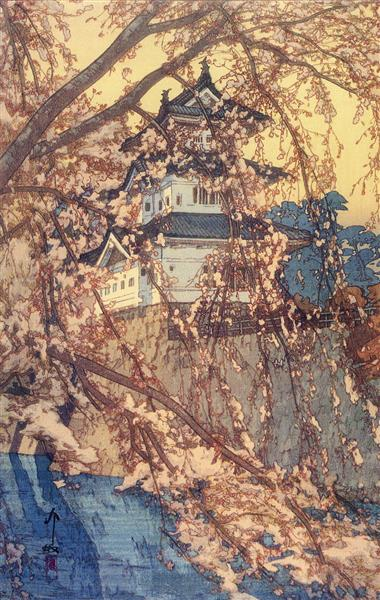 Hirosaki Castle, 1935 - Hiroshi Yoshida