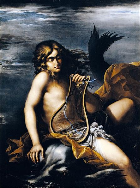 Arione E Il Delfino - Salvator Rosa