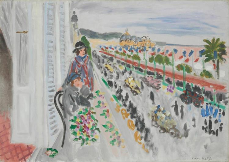 Festival of Flowers, 1922 - Henri Matisse - WikiArt.org