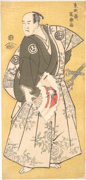 Yamashina Shirojuro in the Role of Nagoya Sanzaemon, 1795 - Tōshūsai Sharaku