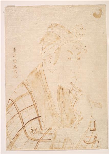 The Actor Matsumoto Koshiro as Banzuin Chobei, 1795 - Tōshūsai Sharaku