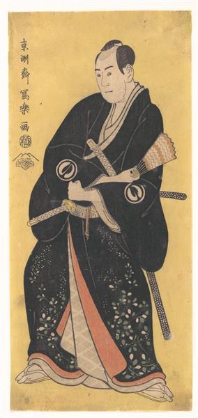 Sawamura Sojuro III as Nagoya Sanza, 1795 - Tōshūsai Sharaku