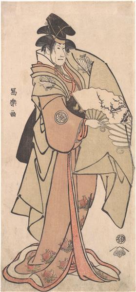 Segawa Kikunojo III in an Unidentified Role, 1795 - Tōshūsai Sharaku