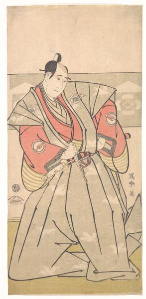 The Actor Sawamura Sojuro III, 1795 - Tōshūsai Sharaku