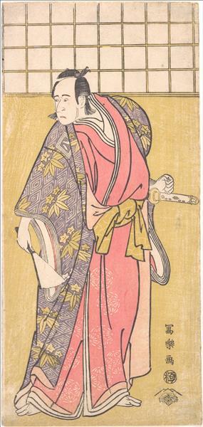 The Actor Ichikawa Yaozō III, 1795 - Tōshūsai Sharaku