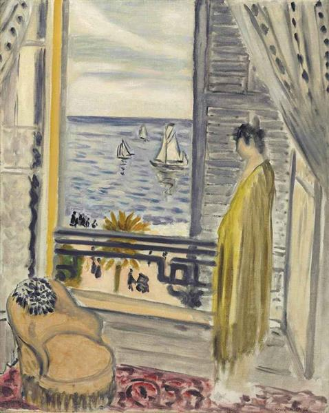 Woman By The Window, 1920 - Henri Matisse