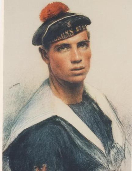Ange Orsi, D'eugène Burnand, 1915 - Eugène Burnand