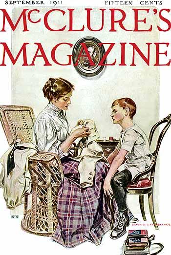 McClure's Magazine, 1911 - Frank Xavier Leyendecker