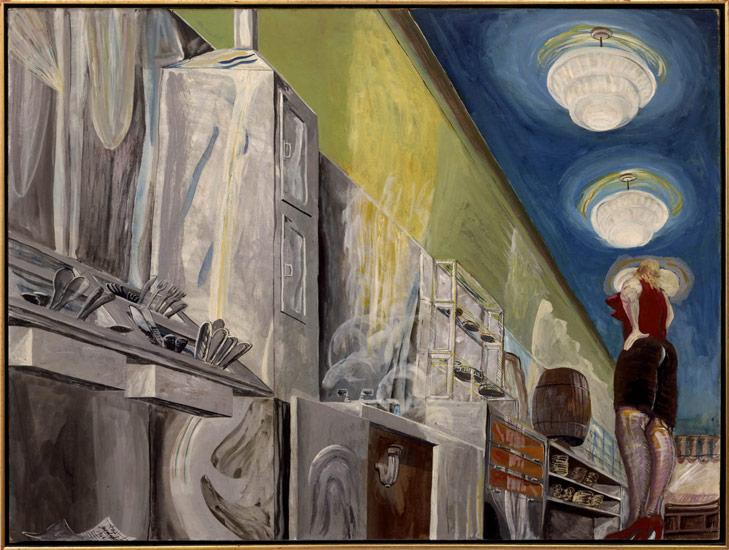 Restaurant (The Waitress), 1966 - Charles Garabedian