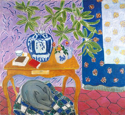 Interior with a Dog, 1934 - Henri Matisse