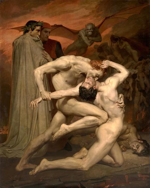 Dante and Virgil, 1850 - William-Adolphe Bouguereau