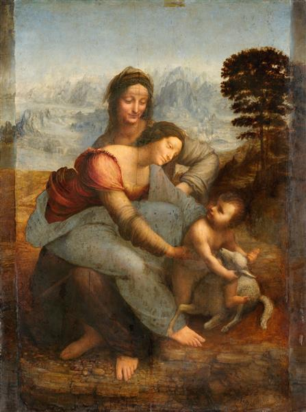 The Virgin and Child with St. Anne, c.1503 - c.1519 - Leonardo da Vinci
