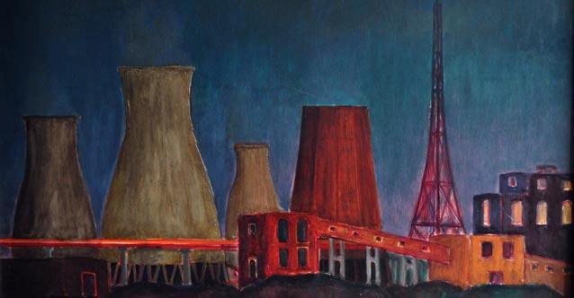 Industrial Landscape - Maria Stolarova