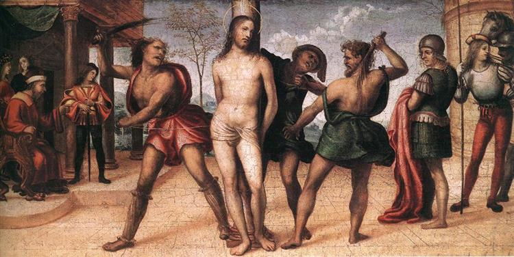 Flagellation of Christ, 1510 - Sodoma