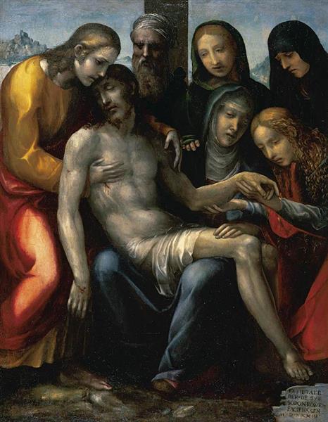 Pietà, 1533 - Il Sodoma