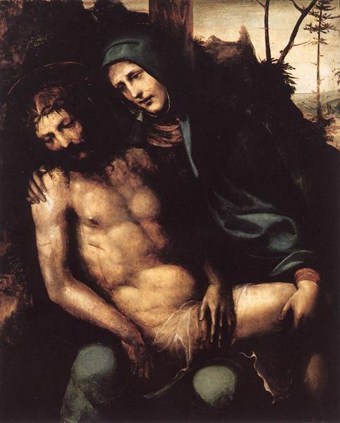 Pietà, 1540 - Il Sodoma