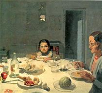 The Table - Antonio López García
