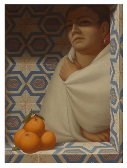 Woman With Oranges - George Tooker