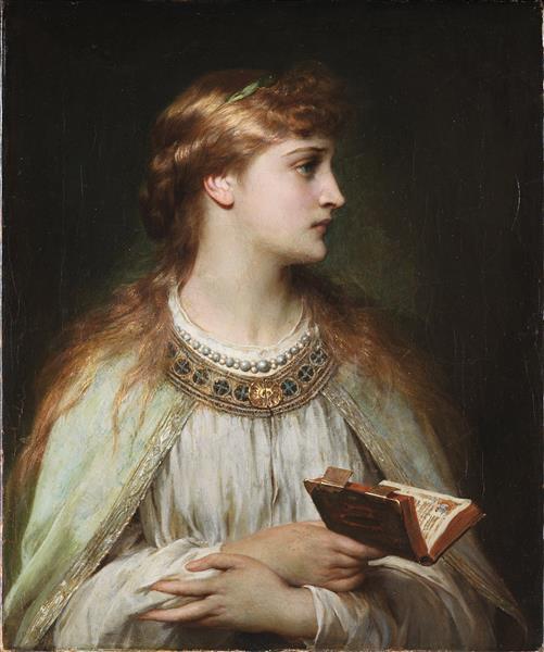 Ofelia, 1864 - Thomas Francis Dicksee
