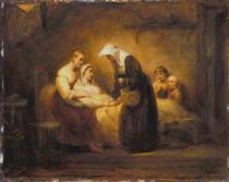 The Sister of Mercy - Ary Scheffer