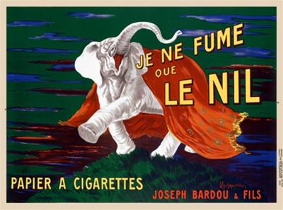 Je Fume Le Nil, 1913 - Leonetto Cappiello