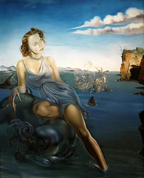 Portrait of Dorothy Spreckels Munn, (1942), 1942 - Salvador Dali